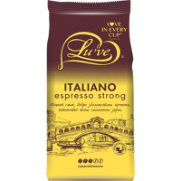 Кофе в зернах Lu've Italiano Espresso Strong 1000 г