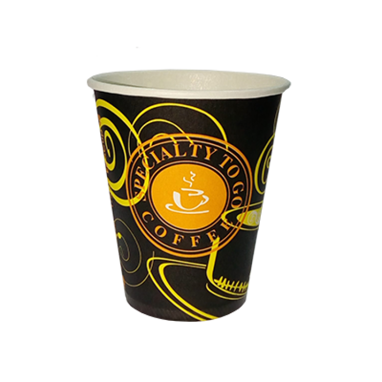 Стакан картонный с рисунком Specialty To Go Coffee 175 мл